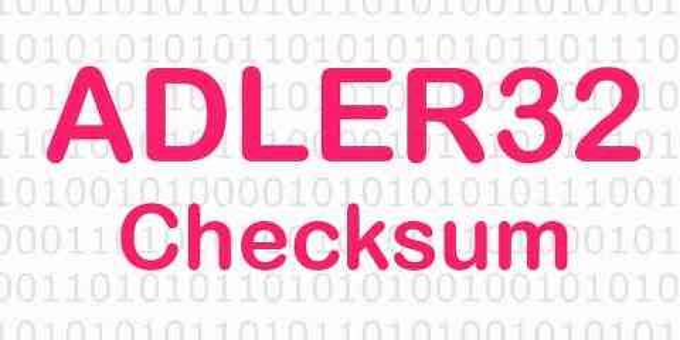 Online Adler32 Hash Kodu Oluşturma