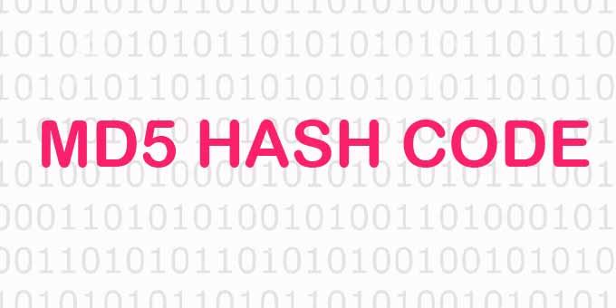 Online MD5 Hash Kodu Oluşturma