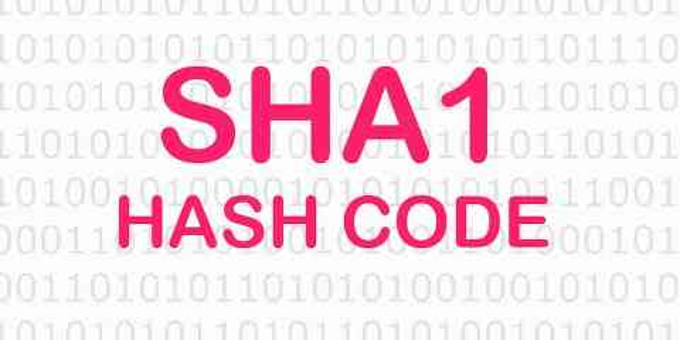 Online SHA1 Hash Kodu Oluşturma